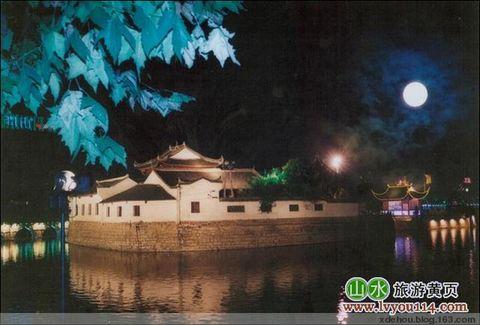 秋月浔阳烟水亭 - 卓三 - 卓三的博客