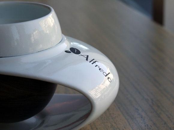 陶瓷与实木相结合的创意咖啡杯套装 - 何泛泛 - 何泛泛|IT独唱团