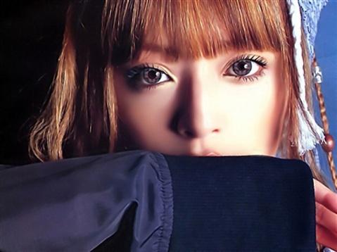 滨崎步代言 苏格兰风情 直径16mm彩色隐形眼镜 - AI-KOMI -