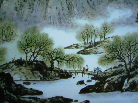 引用 罗昌老师中国山水画技法讲座第三讲 - 月亮 - 月亮的博客