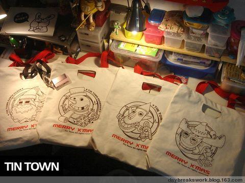 HI-你好原创贩卖tintown圣诞环保袋 - daybreak - daybreaks works