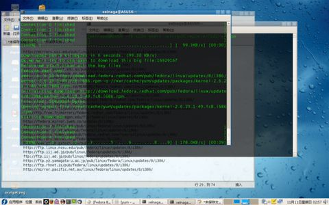 Fedora 8中使用axel加速yum - 难得糊涂 - 德充符