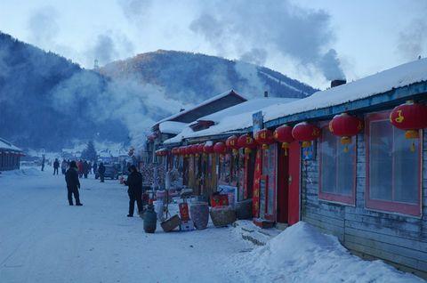 [原创]雪乡的雪景3--双峰林业局 - 松江蓑笠翁hitcdw - hitcdw摄影、旅游