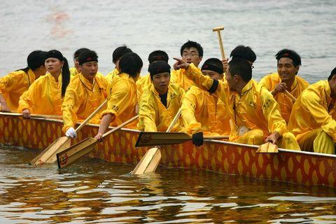 端午节赛龙舟 - 江南风 - 江南风博客