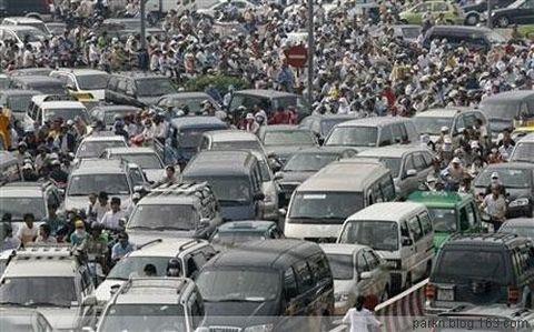 [组图] 看人在路上 不得不惊叹各国上班高峰时段  - 路人@行者 - 路人@行者