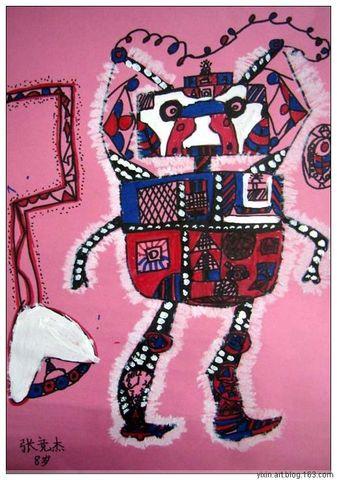 机器大时代(更新中。。。) - 艺馨*童画 - 艺馨*童画