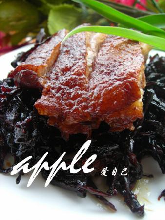 两道菜绝对就能让你爱上电饭煲:笋干菜扣鸭 - 可可西里 - 可可西里