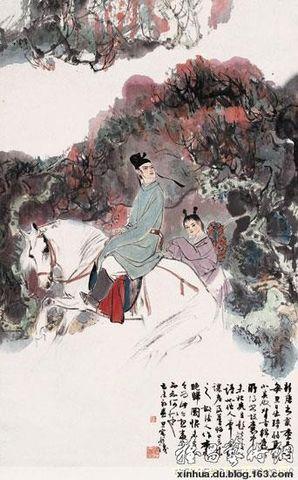 (原创)大唐人物诗传  李贺 - 兴华 - 大漠雄鹰