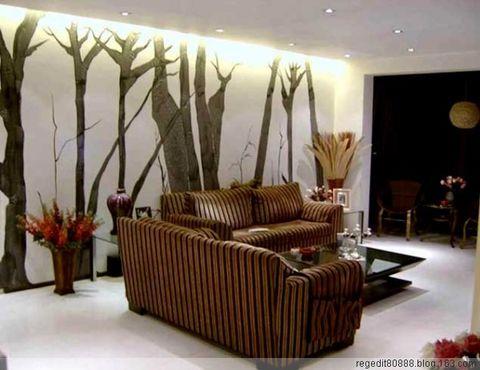 设计手绘墙时要注意要点 - 啄木鸟墙体手绘 - 啄木鸟手绘工作室