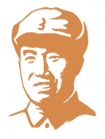 我画的共和国领袖像 - 何鸣芳 - 何鸣芳的版画藏书票博客