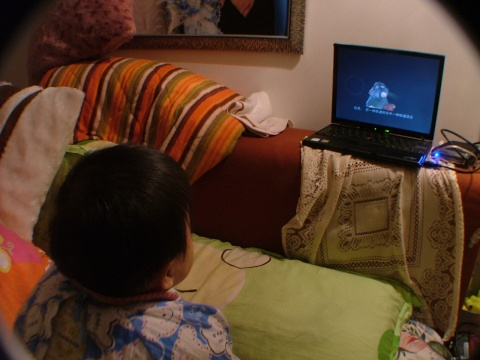 随录:看动画片 - 宸欢 - 张宸欢的网家家