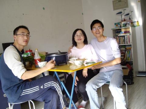 腊月初七(1月2日)小倩生日(吃火锅) - oneship-grace - 熟悉的小屋