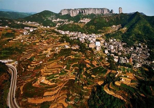 台州方山风景图片