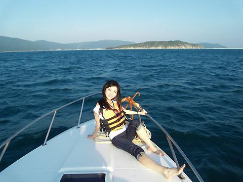 景甜:三亚 海边 赤脚 - 冰豆 - 向六的空间