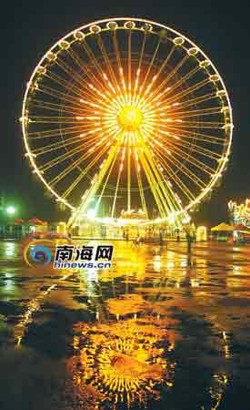 海南羡慕新加坡 欲花10亿建世界第一摩天轮 - xusenxiong520 - 中山交友网