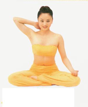 引用 瑜伽动作治疗头痛(组图) - 娴雅 -