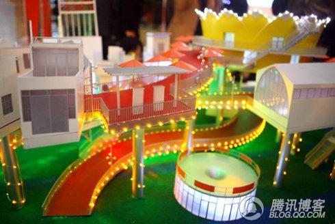 先睹上海世愽馆造型 - 天高云稀 - weipeilong7218的博客