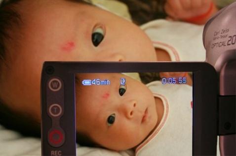 """宝宝73天:我的""""西瓜太郎"""" - 令冲冲 - 飞越梦想"""