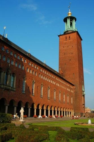 斯德哥尔摩市政大楼 - 西樱 - 走马观景