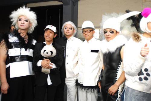 中国熊猫时装狂秀法国 - 赵半狄 - 熊猫艺术家赵半狄的博客