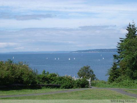 到西雅图观光(10):来到皮吉特海湾 - 阳光月光 - 阳光月光
