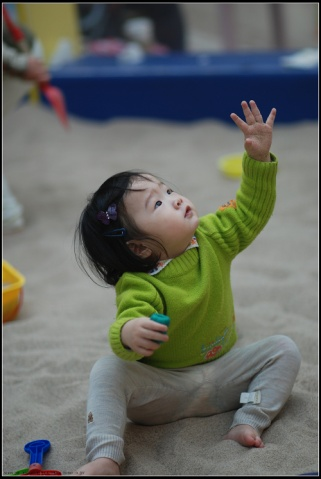 贝贝第一次玩沙子/游乐场 - 贝贝的爸妈 - 贝贝的爸妈