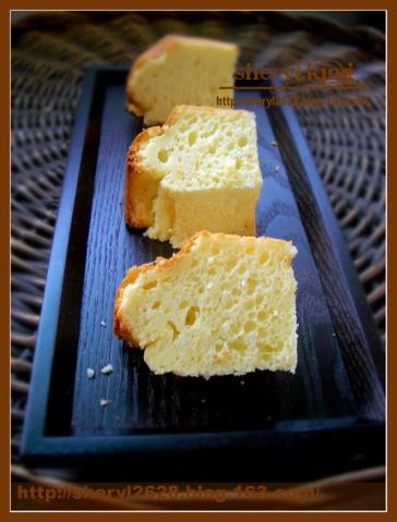 奶油奶酪戚风蛋糕 - 出尘素影 - 淡极始知花更艳