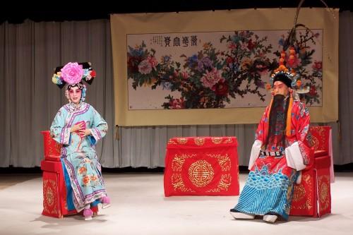 票社成员演出《坐宫》剧照 - 和合为美 韵味永昌 - 和韵京剧社 的博客