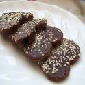 美味创意小点心:巧克力曲奇芝麻饼