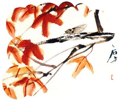 齐白石作品欣赏 - 刘军长 - 汝州奇石网