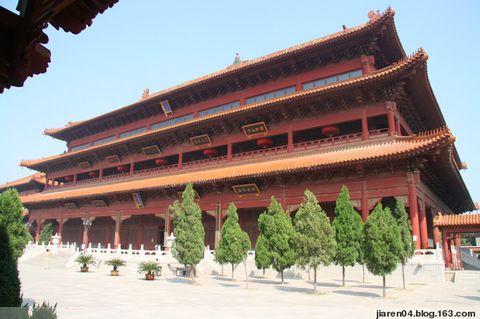 赵州柏林禅寺(原创) - 逆光中的风景 - 拈花妙意  省略许些晦涩