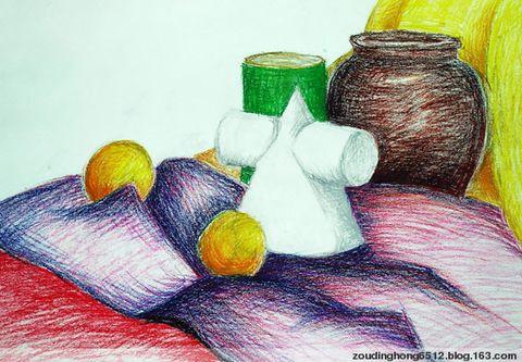 么就画什么,这就是小学生的绘画创作.但开始没有老师好的引