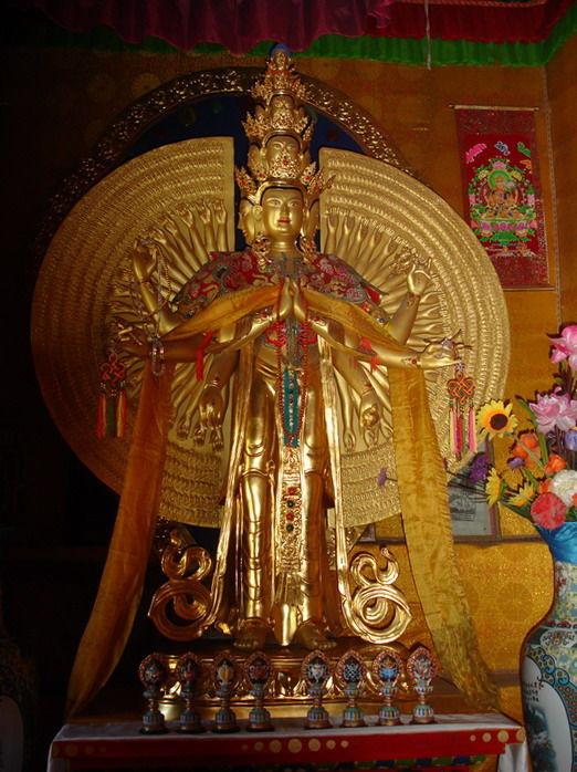 新疆自治区 和静县地标 巴伦台黄庙 - 西部落叶 - 《西部落叶》·  余文博客
