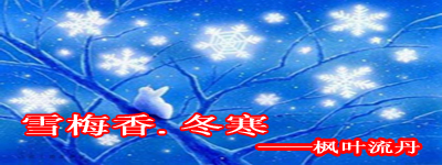 雪梅香.冬寒二 - 枫叶流丹 - 枫叶流丹的心韵