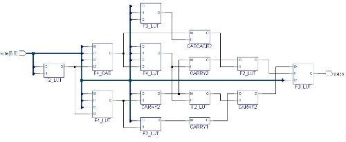 设计三人表决器电路实现的电路接线图