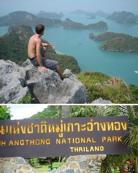 泰国的安通海洋国家公园