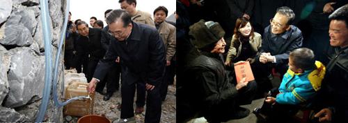 8年来温总理在春节期间都干些啥?