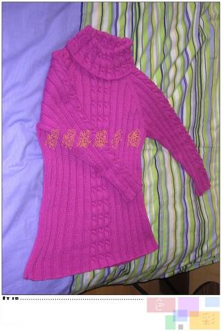 女儿的毛衣完工了 - 闹闹腾腾 - 闹闹腾腾的博客