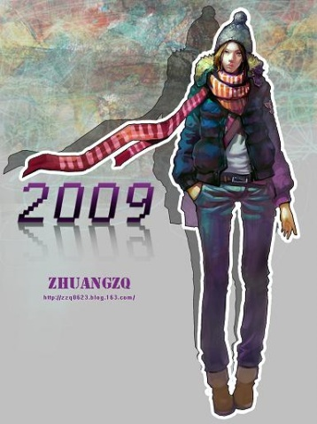 2009年第一张画 - zhuangzq - ZHUANGZQ