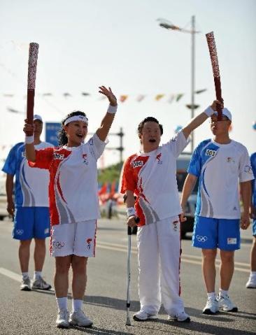 奥运圣火在宁夏—美丽的宁夏川  - 真水无香  - 香格里拉 花开的地方