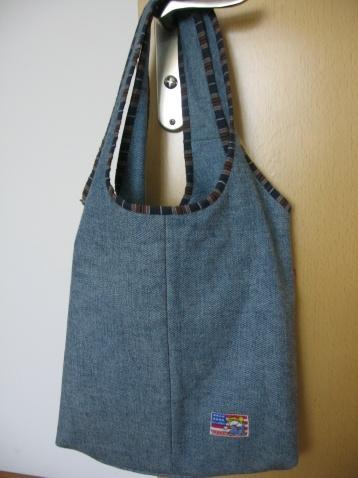 牛仔裤改的包包 - 炮炮的日志