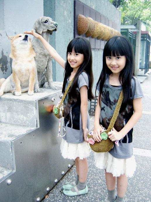 台湾人气双胞胎小姐妹最新40张动人近照曝光(图)