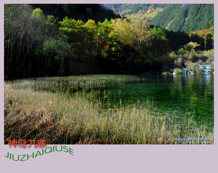 (原摄)九寨秋色之十八 - 高山长风 - 亚夫旅游摄影博客