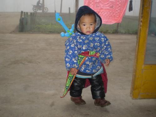"""糖糖的调虎离山,附图:看我像不像""""七剑"""" - 刘长峰 - 刘长峰"""