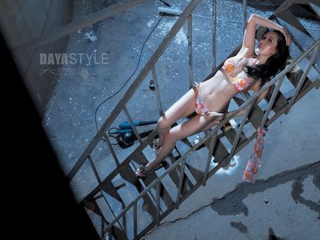 为《时尚健康》拍的一组照片 - rain.911 - 颜丹晨的博客