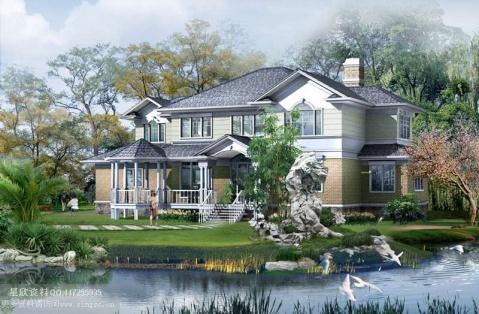 外观设计图 三楼房屋外观设计图 四楼房屋外观设计
