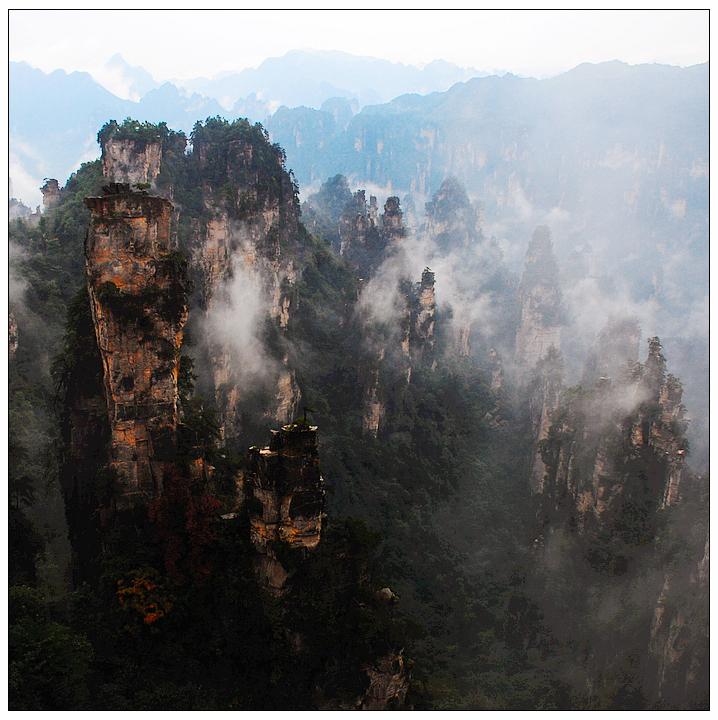 [原创摄影]张家界风光——黄石寨 - 运动摄影旅行 -               运动摄影旅行