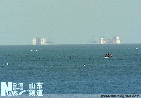 罕见的海市蜃楼图片 - tiankongweiluan - 隐藏者