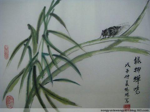 浣溪沙  [蝉韵] - 心音如月 - 心音如月的博客