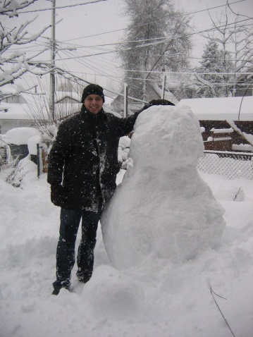 平安夜——堆雪人 - Xian - 格子的博客